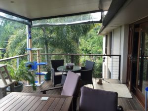 Buderim deck right hand end